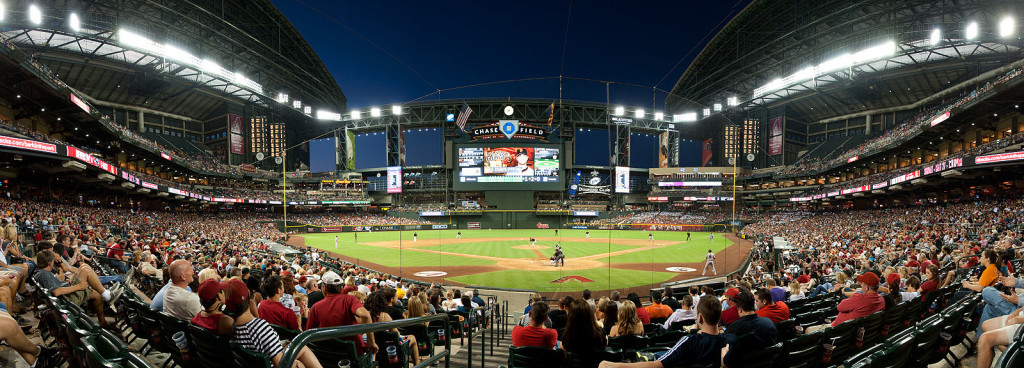 Chase Field Panorama at Financial Advisor Conference