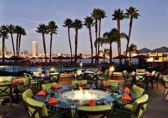 Coronado Marriott with view of San Diego