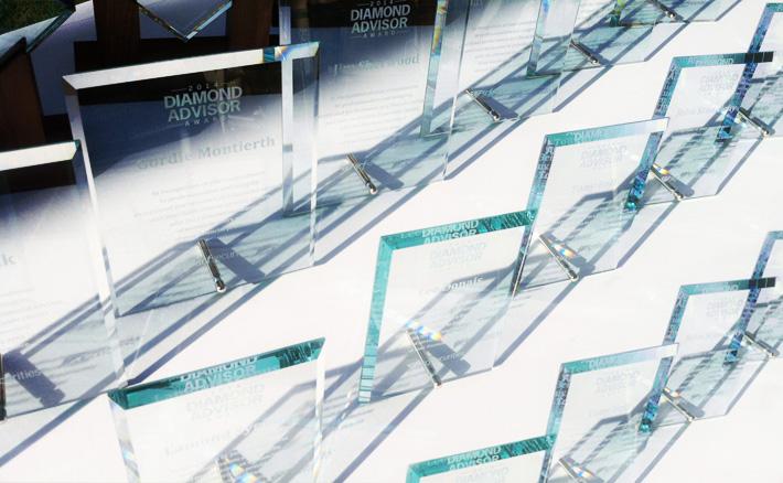 Diamond Financial Advisor Award