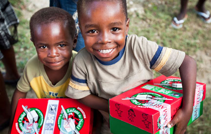 SCF participates in Operation Christmas Child