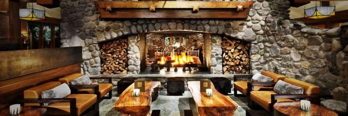 Lobby of Broker-Dealer Conference in Lake Tahoe