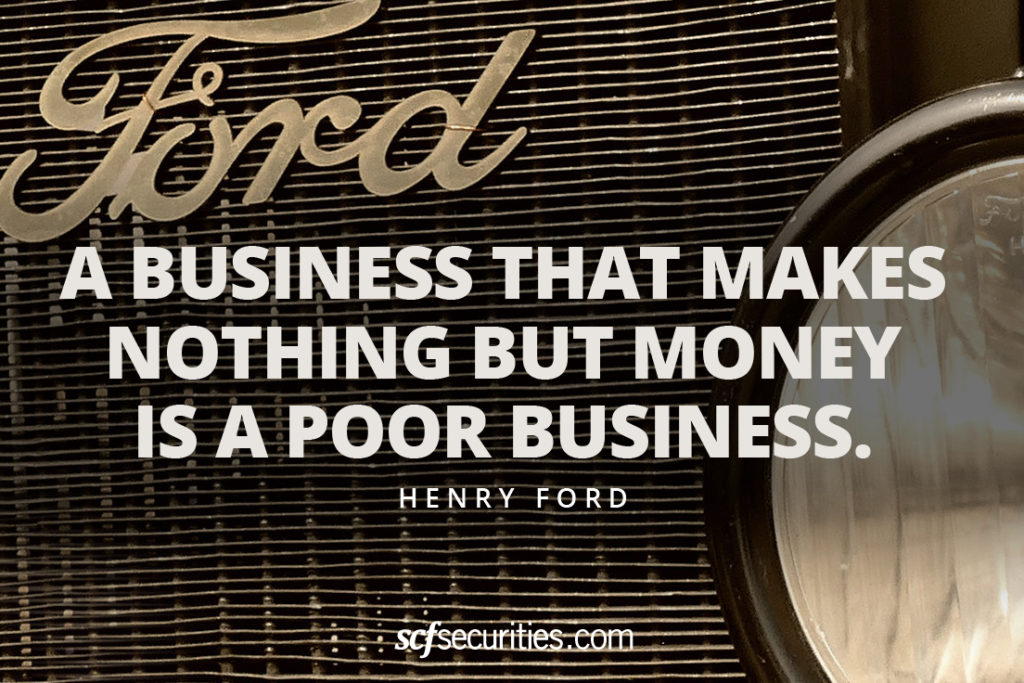 Henry Ford Business Quote