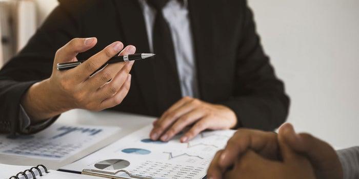 Financial Advisor Client Meeting