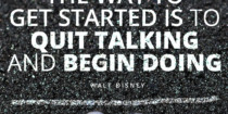 Disney: Quit Talking and Start Doing