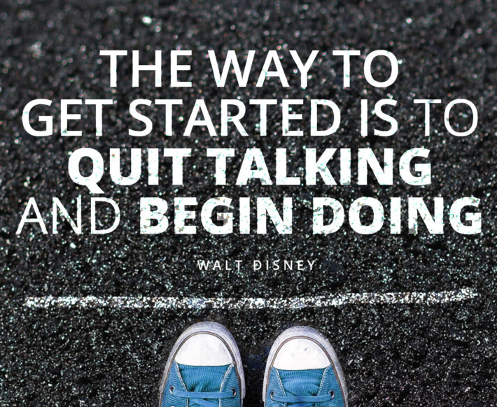 Disney: Quit Talking and Start Doing