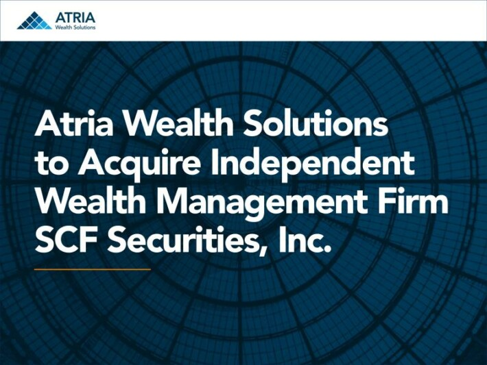 Atria Acquires SCF Securities